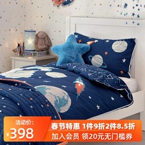 Laura Ashley space pattern childrens bedding boys cotton bedding sets childrens two sets of cotton