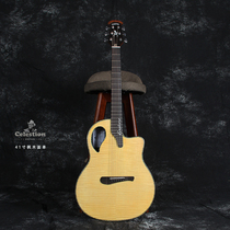 British Permian Dragon full single-box ballad guitar 41 inch electric wood ABS fiber guitar beginner playing personality.