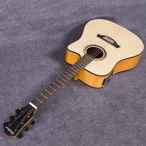 41-inch spruce Nanyang wood DN-130 five-segment electric box guitar matte EQ acoustic guitar mid-range guitar