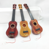 Childrens day childrens cartoon fruit ukulele early childhood mini guitar it playing musical instruments educational toys for children