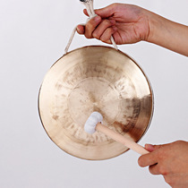 Gong copper 21cm22 CM treble bass hand gongs gongs and drums instruments small gongs sound copper instruments