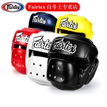 Thaïlande Fairtex Casque de boxe Full Protection Adulte Scatter Boxe Chef Muay Thai Training Guard HG14