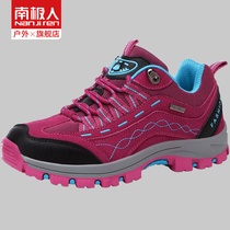Antarctic people hiking shoes women autumn and winter couples sports climbing shoes low-top breathable warm travel outdoor hiking shoes men