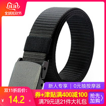 Outdoor tactical belt Mens military fans belt canvas for training casual special forces within the Belt sports nylon belt