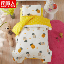 Antarctic people infant six-piece childrens bedding baby nap into the garden cotton quilt cover cartoon multi-piece