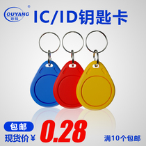 IC key card M1 access card ID key card elevator card property Plot No. 3 IC card fingerprint card