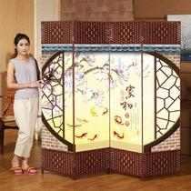 Chinese screen partition hotel restaurant about folding screen mobile package room Folding Home Office guest fabric