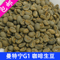 Mantenin G1 Coffee Raw Beans Imported Raw Coffee Beans 500g New Beans in Indonesias Doba Lake Region