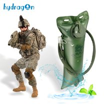 Folding drinking bag resistant to squeezing mountaineering through outdoor riding marching fans 3L thickened large capacity water SAC special Price