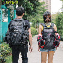 New genuine eagle FLYING EAGLE roller skating backpack skating outdoor sports professional roller backpack