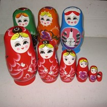 Supply Russian dolls wooden Russian five-story matryoshka tourism crafts Russian crafts