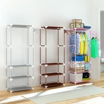 Take the hang clothes hanger bedroom floor simple shoe cabinet Assembly hanger shoe rack one