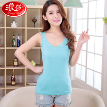 Rosa Sling Vest female short in lace thin spring summer slimming sexy sleeveless elastic bottom shirt
