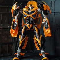 Wei will transform the toy big SS wasp dynamite M day OP column car King Kong robot model hero spot.