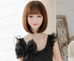 New CD pseudo-girl TS wig women's wear sub-items cross-dressing set of short hair air Liu Hai 8866