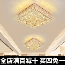 Aisle Light Corridor light Nordic Light Luxury Crystal spot light led Ceiling Light living room entrance entrance entrance light