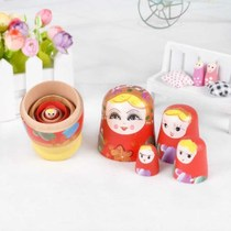 Matsuki 10 layer handicrafts 5 layer Basswood belly holiday gift childrens toys