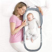 Love for you portable bed crib baby crib folding anti-pressure children bb Bionic mattress