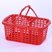 Household water leakage basket grape storage basket 2 kg vegetables blue fruit picking basket pick 1 Bayberry soft plastic strawberry