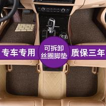 Wuling Hongyuan Pad 7 dedicated fully surrounded waterproof car pedal pad full set of Van pad seven seats