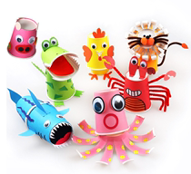 Daban kindergarten art district area toy material Play teaching aids self-made activities material delivery doll home
