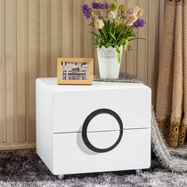Bedside cabinets modern simple European-style paint lockers bedside storage cabinets bedroom lockers two bucket cabinet