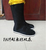 Ancient shoes mens cloth boots mens hanfu boots costume shoes mens Han shoes ancient hanfu mens shoes officer boots Chinese style
