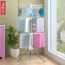 Baby clothes rack floor folding childrens bedroom hangers home diaper rack drying clothes rack storage rack artifact