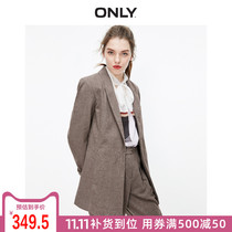 Only2019 autumn and Winter new temperament yangqi slim thin occupation jacket female) 119308539