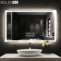BOLEN smart bathroom mirror wall touch screen led light mirror HD bathroom mirror bathroom anti-fog mirror with lights