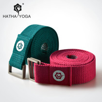 Hathas new cotton yoga stretch strap stretch esh-pull edge belt with Ayyang-assisted yoga belt