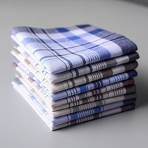 Standard na classical wipe old man handkerchief sweat towel double-decker handkerchief middle-aged and sweaty towel snot Japanese nostalgic