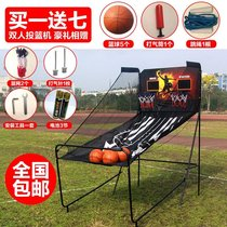 Mall automatic scoring indoor electronic shooting machine adult children single double basketball frame shooting game