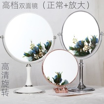 High-end European double-sided mirror makeup double-sided mirror front HD plane reverse amplification.