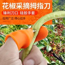 Pruning protection cowpea device clip fingered pick beans pepper Tools Shed pick pinch nail creative vegetable iron