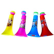 Childrens large three childrens telescopic toy speaker plastic baby musical instrument trumpet cheer