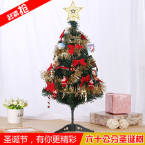 Only respect Christmas decorations small Christmas simulation Christmas tree mini 60cm encryption luxury package children