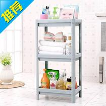 Bathroom rack bathroom three-story storage e toilet floor storage shelf toilet plastic finishing debris