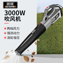 Solid portable 3000W High power storm machine industrial hair dryer electric blowing leaves dust cleaning blower