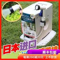 Japan imported water pipe rack watering rain shower recycling car wash water grab automatic high-pressure gun set garden hose