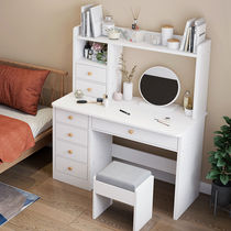 Dresser Bedroom small household make-up table storage cabinet Nordic modern simple girl net red ins wind make-up table.