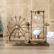 Creative high school student graduation gift desk decoration hourglass timer female student time hourglass gift birthday