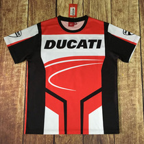 Ducati locomotive short sleeve T-shirt outdoor motorcycle clothes motorcycle travel rider riding racing T-shirt