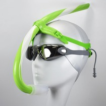 Positive front snorkel swimming training device professional freestyle equipment adult children snorkeling underwater ventilation