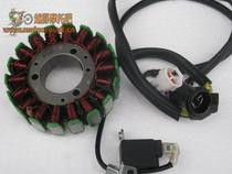Xinyuan x2x2x retro motorcycle 250CC Xinyuan six days SIXDAYS250 magnetic cylinder coil stator