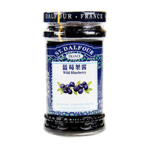 France imported jam St. Taoyuan blueberry jam 170g bottle jam bread breakfast with