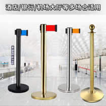 Railing seat hanging perimeter alert isolation line with column one-wire stop rod police boundary isolation belt guard railing Telescopic Zone