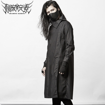 Decadent elements dark Ro neutral robe Japanese Yohji designer male tide dress personality simple gown slim