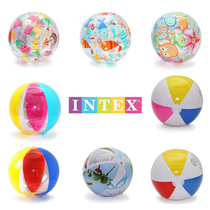 INTEX ballon gonflable de plage jeu de water-polo enfants natation jeux deau de Plage Grand Ballon de plage volleyball
