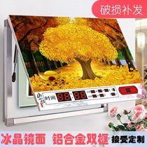 Perpetual calendar meter box decorative painting with Watch distribution box power box switch block Gates hydraulic box painting